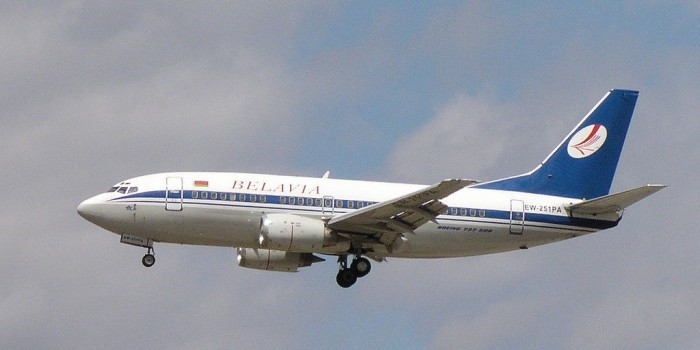 """Украина отказалась выплачивать компенсацию за разворот самолета """"Белавиа"""""""