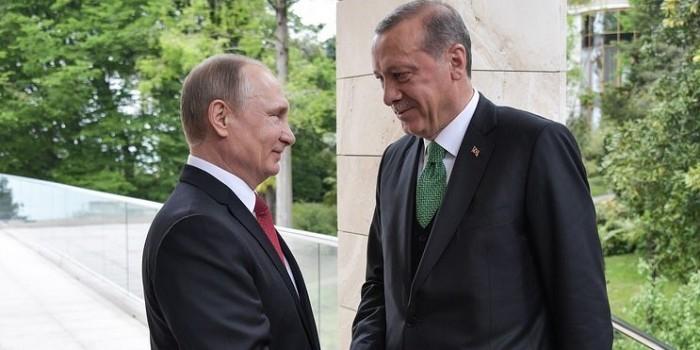 Путин объявил об отмене взаимных санкций с Турцией
