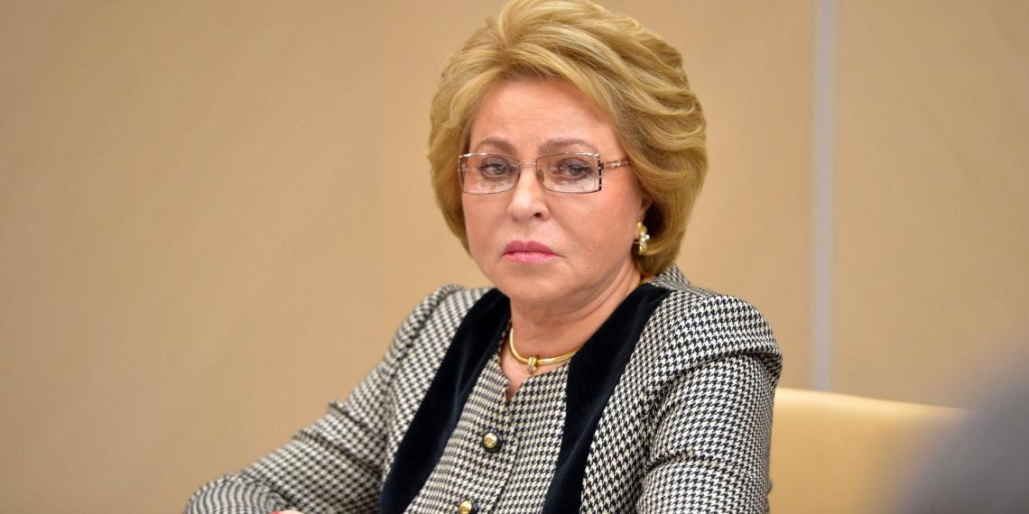 Матвиенко отметила своевременность поправки о возможности Путина избираться на новый срок