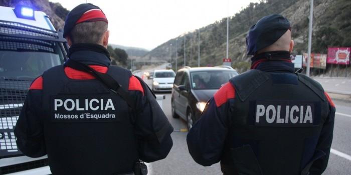 Каталонские полицейские застрелили террориста с поясом смертника