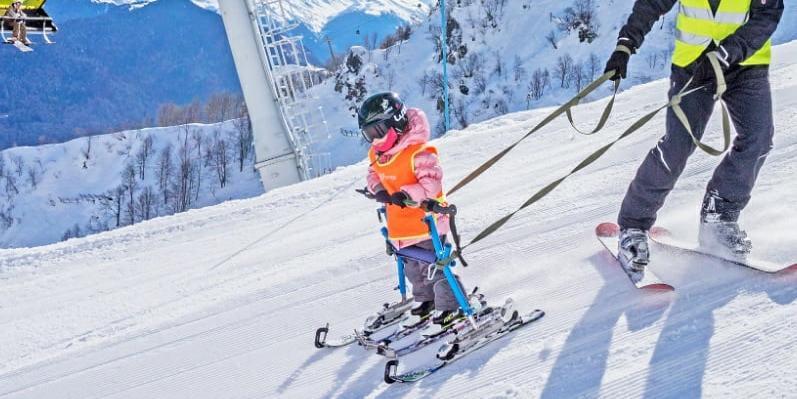 """Горнолыжный курорт """"Роза Хутор"""" запретил детям-инвалидам тренироваться на своих трассах"""