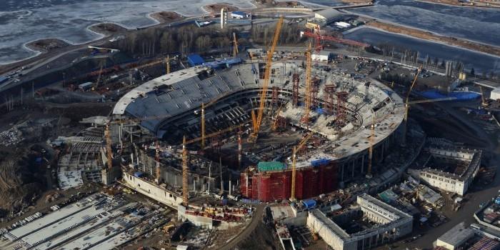 Генподрядчик «Зенит-Арены» просит увеличить стоимость проекта до 35,3 млрд рублей