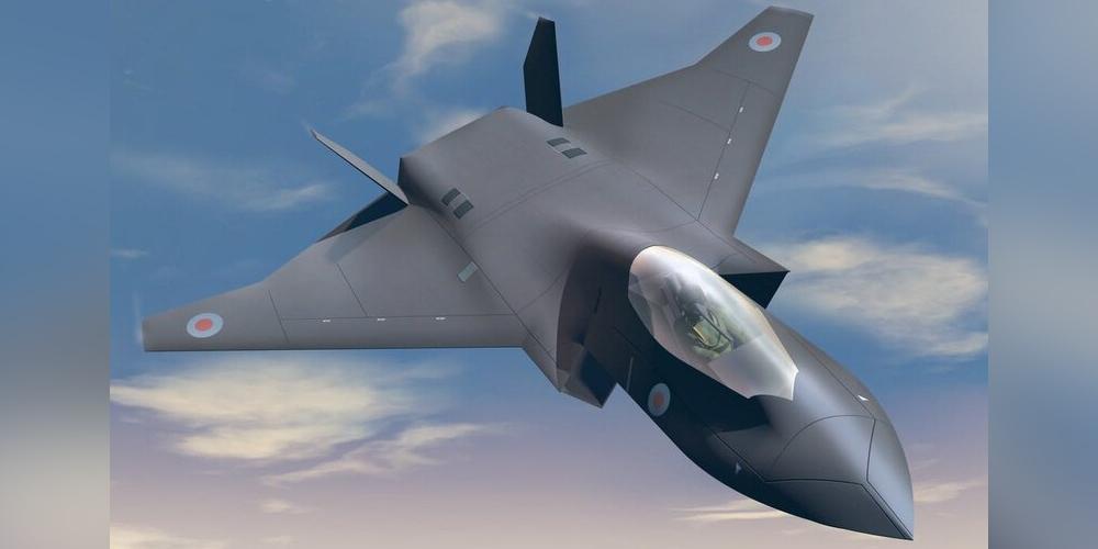 В Великобритании показали новый эскиз истребителя 6 поколения