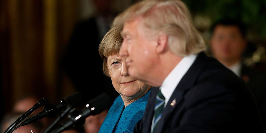 Трамп озаботился закупками российского газа Германией