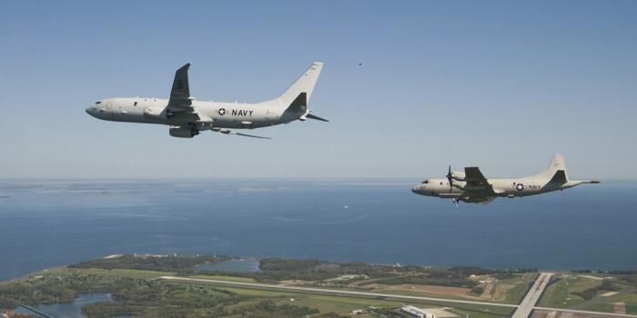 У берегов Крыма четвертый раз за день замечены разведывательные самолеты США