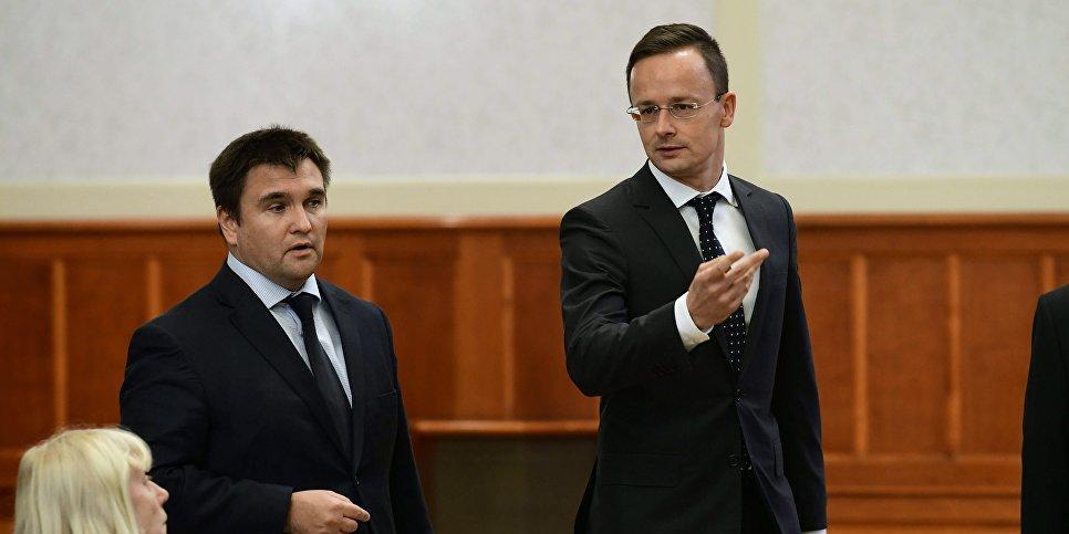 Климкин порадовался бегущим из Закарпатья венграм