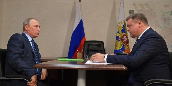Глава Рязанской области рассказал Путину о планах сделать регион цифровым
