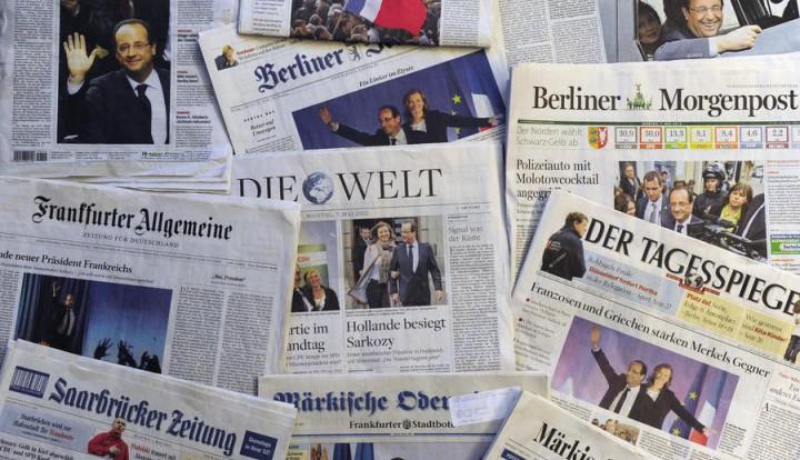 Deutsche Welle: немецкие СМИ единодушны в поддержке Charlie Hebdo
