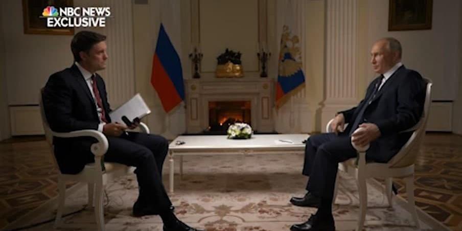 В преддверии встречи с Байденом Путин дал большое интервью американскому телеканалу