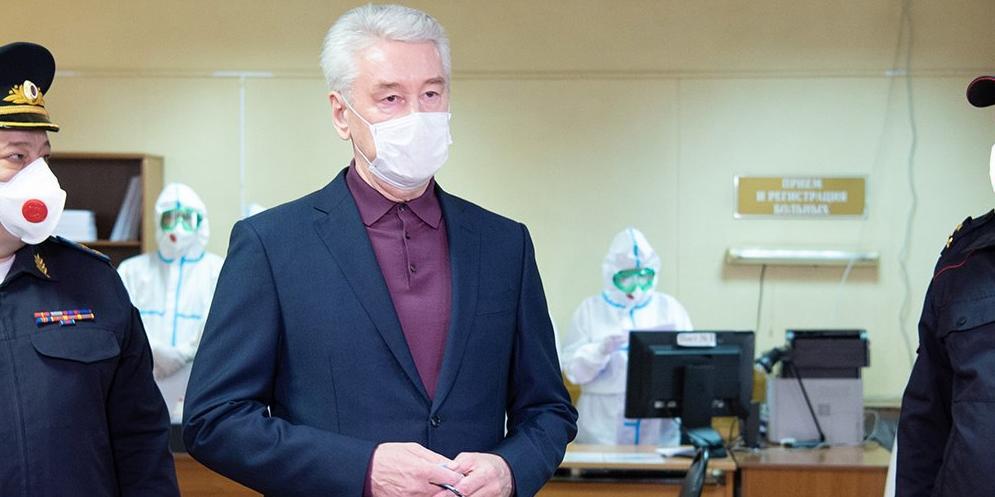 Собянин исключил отключение горячей воды до 1 июля в Москве