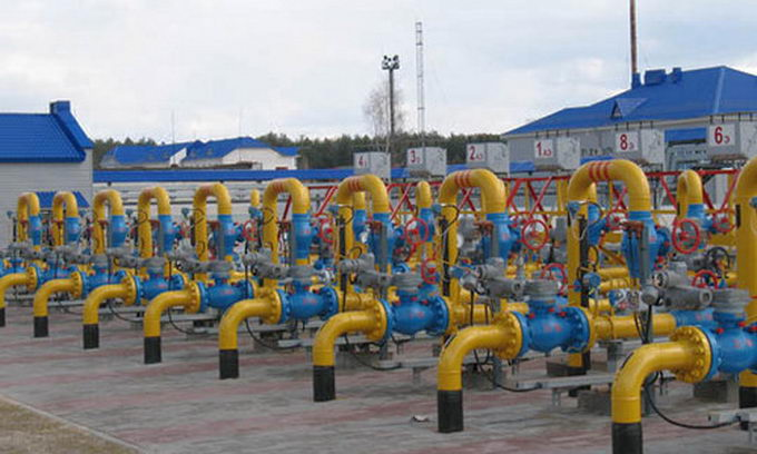 Еврокомиссар призвал Украину и Евросоюз заполнить газохранилища