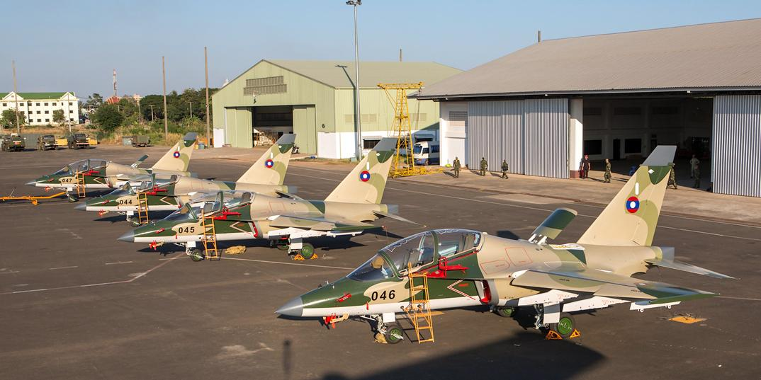 Россия построила для Лаоса учебный центр ВВС