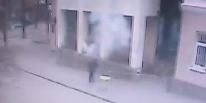 Опубликовано видео взрыва в Ростове-на-Дону