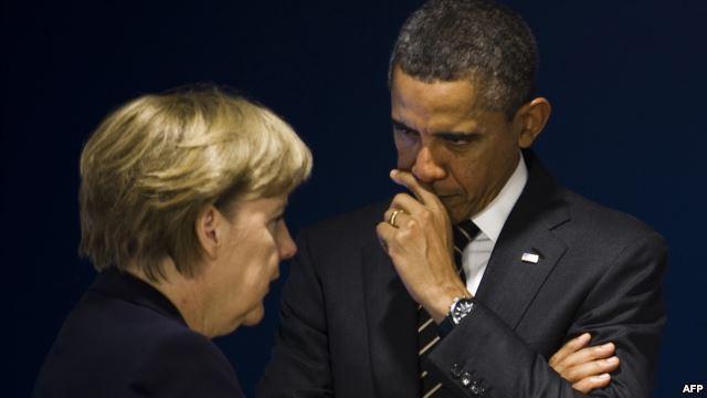 Anonymous: Меркель пошла на сделку с Обамой ради добычи компромата на своих соперников
