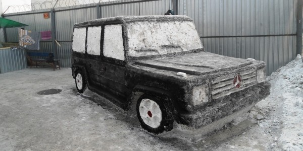 В колониях по всей России прошли конкурсы снежных и ледяных фигур