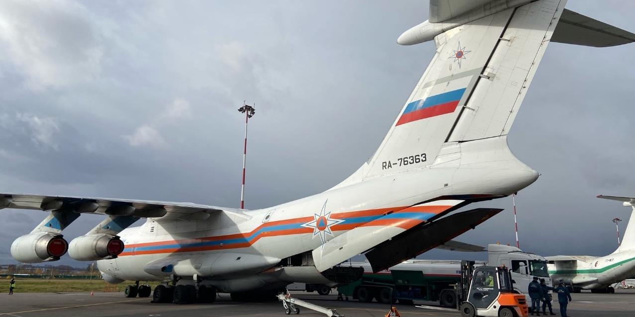 Российский борт обеспечит гуманитарной помощью жителей Анголы и Кабо-Верде