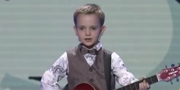 6-летний вундеркинд из России победил в Китае на шоу талантов (ВИДЕО)