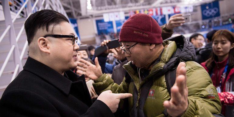 Двойник Ким Чен Ына потроллил чирлидерш из Северной Кореи на Олимпиаде