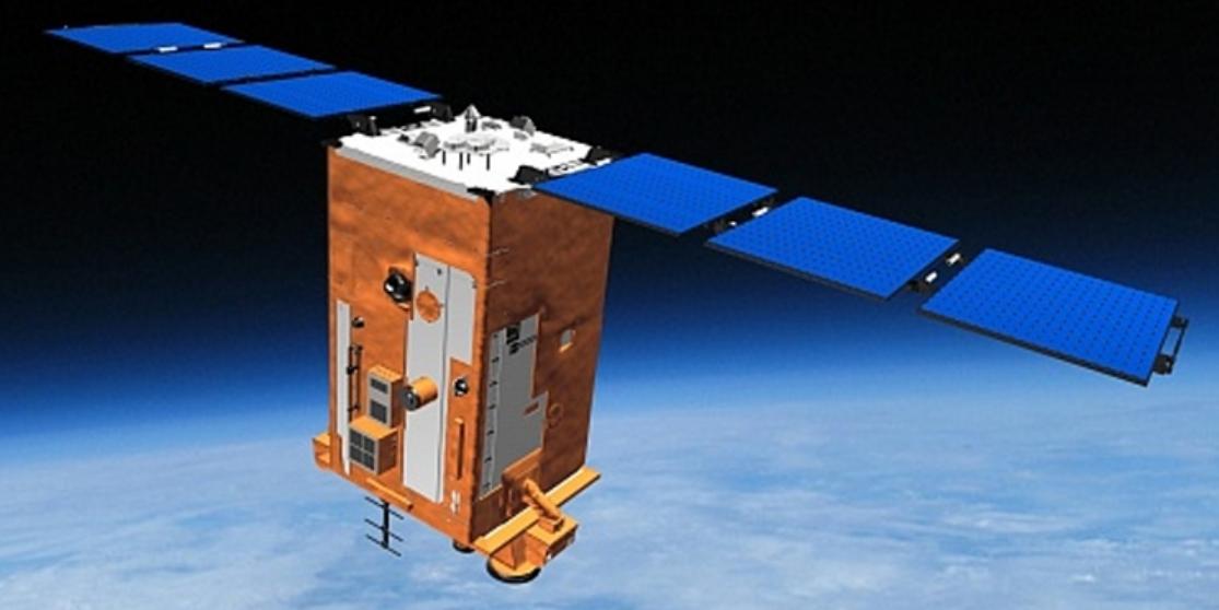 Российский космический аппарат заснял редкое суперлуние
