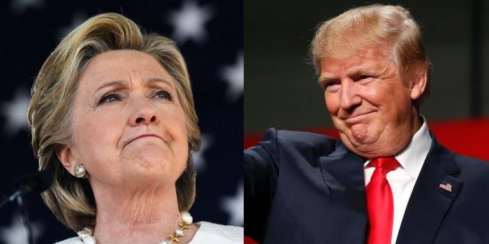 ABC: за два дня до выборов в США Клинтон опережает Трампа