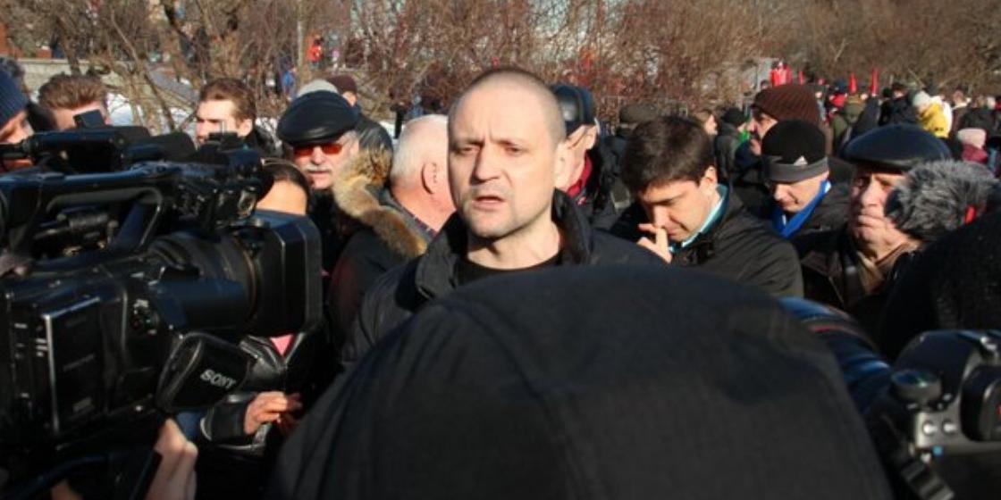 Триста вместо трех тысяч: Удальцов снова ошибся в подсчете митингующих за референдум по поправкам в Конституцию