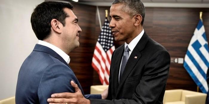 Обама пообещал Греции помочь с госдолгом в обмен на санкции против России