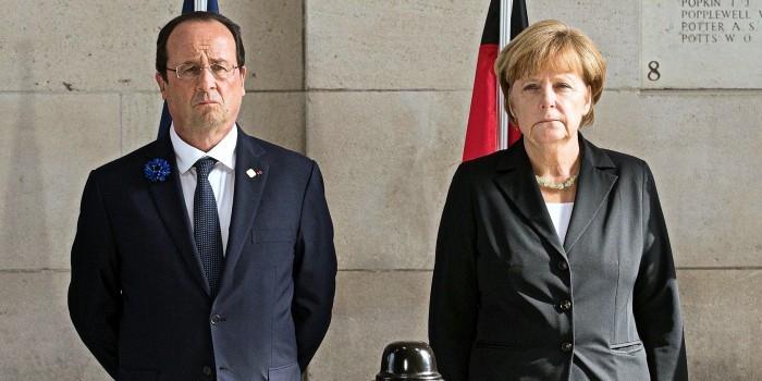 Путин призвал Меркель и Олланда повлиять на Порошенко из-за провокаций ВСУ