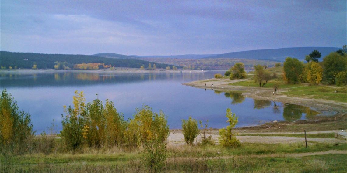 В Симферопольском водохранилище почти закончилась вода