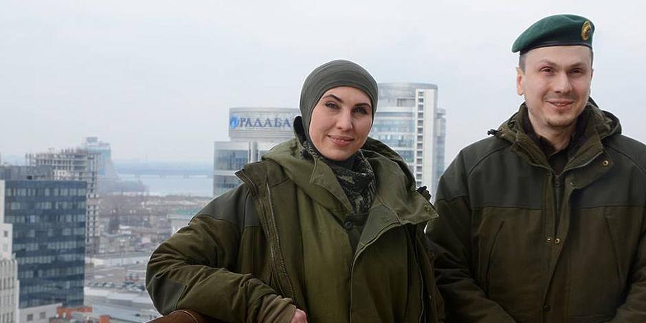 Под Киевом ранен обвиняемый в подготовке покушения на Путина Осмаев, его жена Окуева убита