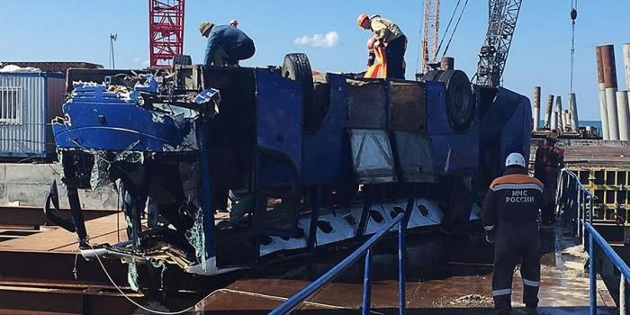 Число погибших в ДТП с автобусом на Кубани выросло до 19