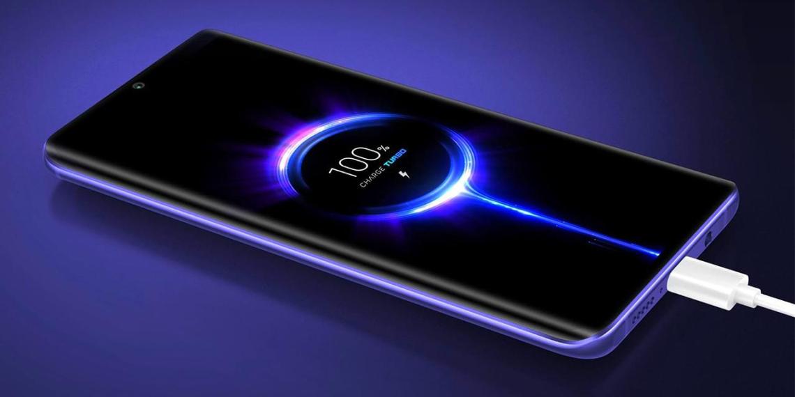 Xiaomi готовит телефон, способный зарядиться с нуля до 100% за несколько минут