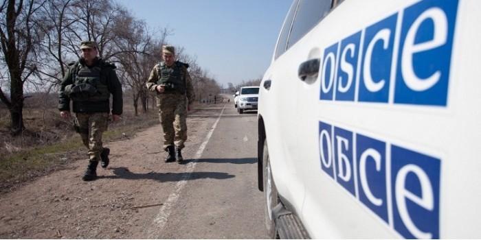 ОБСЕ сообщила о попытке подрыва машины наблюдателей возле Луганска