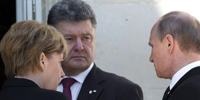 """В Кремле прокомментировали """"тайный разговор"""" Путина и Порошенко"""