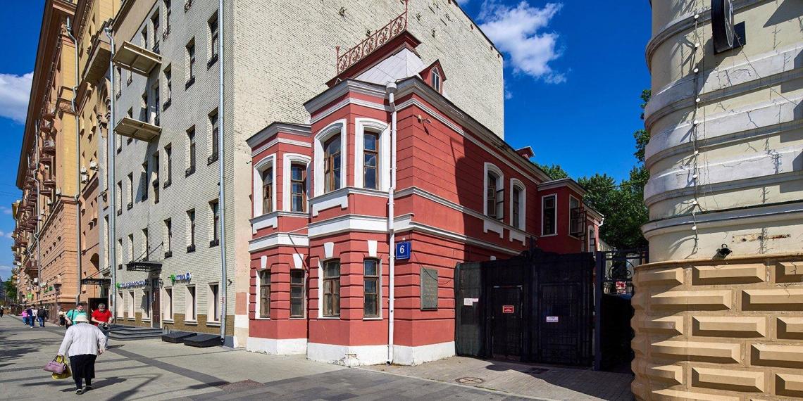В Москве начали реставрировать дом-музей Чехова