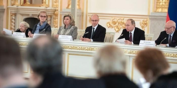 Путин пообещал помочь в борьбе правозащитников с детской криминальной субкультурой