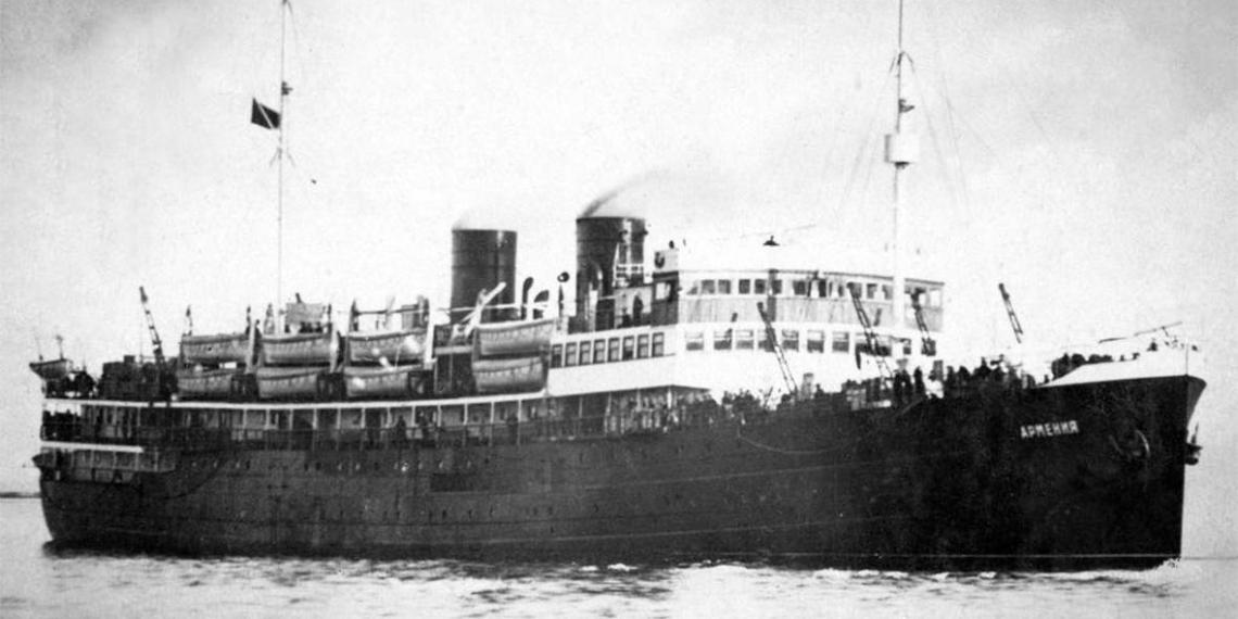 """На дне моря нашли советский теплоход, унесший больше жизней, чем """"Титаник"""""""