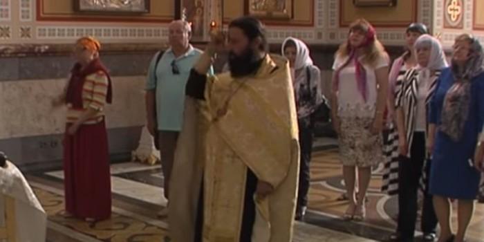В Крыму устроили молебен за успешный туристический сезон