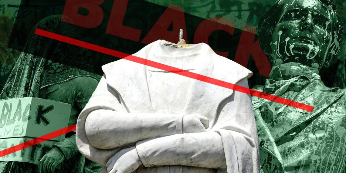 """Забыть и каяться: как чернокожий протест превратился в войну с """"позорной"""" историей США и Британии"""
