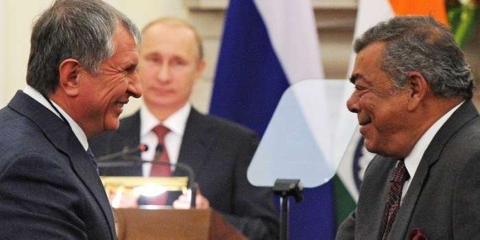 """Reuters рассказал о вмешательстве Путина в индийскую сделку """"Роснефти"""""""