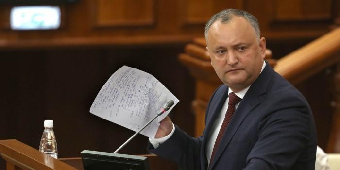 Додон планирует добиться от НАТО признания нейтралитета Молдавии