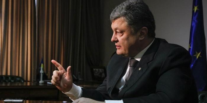 Порошенко утвердил военную доктрину, где РФ названа военной угрозой