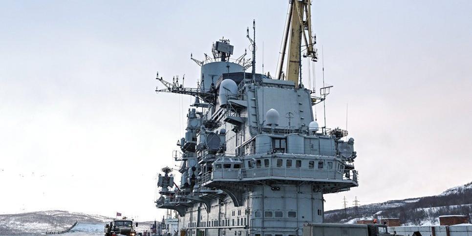 """После ЧП с """"Адмиралом Кузнецовым"""" один человек пропал. Заведено уголовное дело"""