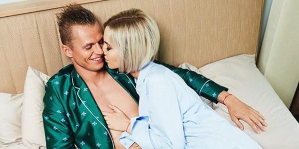 Ольга Бузова снялась топлес в эротической фотосессии вместе с мужем-футболистом