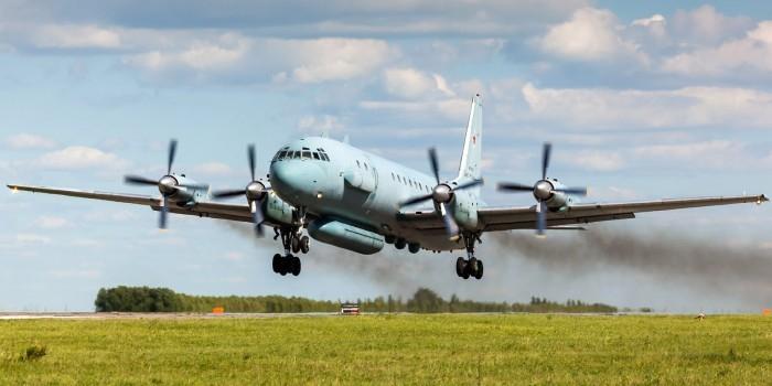 FT: В Латакию прибыл российский самолёт-разведчик Ил-20