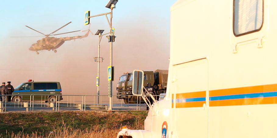 """""""Молодежка ОНФ"""" поможет жителям Рязанской области, эвакуированным из-за пожара на складах"""