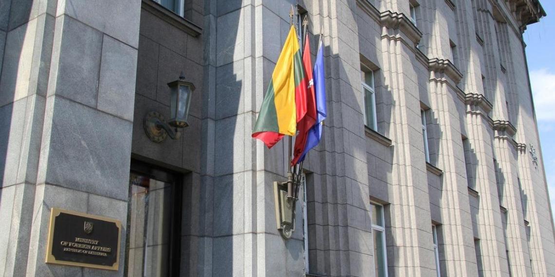 МИД Литвы: Белоруссия попыталась задержать автомобиль с литовской диппочтой