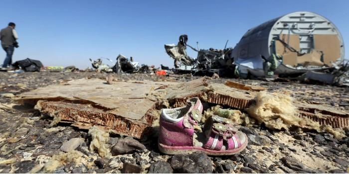 В ФСБ установили тип бомбы на борту A321