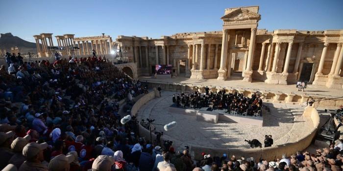 ИГ взорвало в Пальмире амфитеатр, где выступал российский оркестр