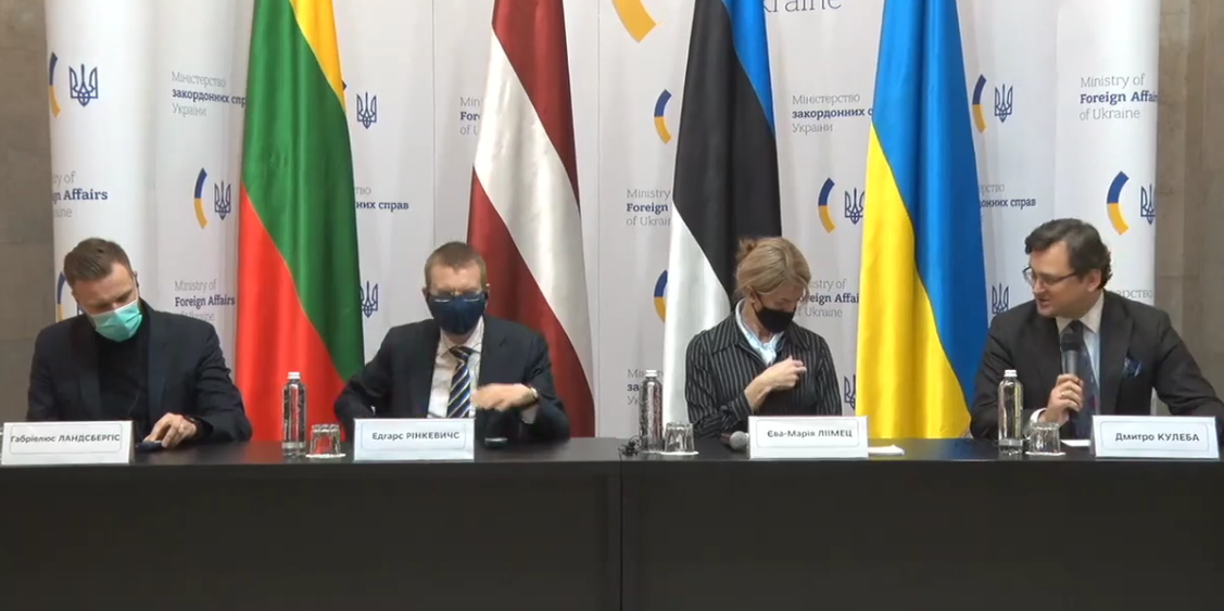 Украина и Прибалтика выставили России красную линию
