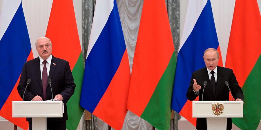Путин заявил о возможном создании союзного парламента с Белоруссией